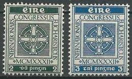 IRLAND 1932 MI-NR. 57/58 ** MNH - 1922-37 Stato Libero D'Irlanda