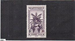 Martinique YT Taxe 16 XX/MNH - Martinique (1886-1947)