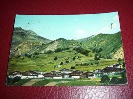 Cartolina Bellino ( Valle Varaita ) - Borgata Prafauchier 1965 - Cuneo