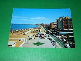 Cartolina Viserba - Lungomare E Spiaggia 1970 - Rimini
