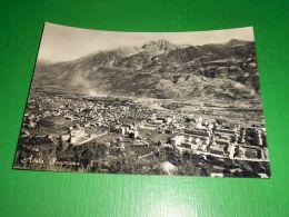 Cartolina Aosta - Panorama - 1950 Ca. - Italy