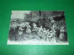 Cartolina Militaria Francia - En Alsace - Tirailleurs Sénégalais 1910 Ca N. 1 - Autres