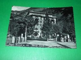 Cartolina Limone Piemonte - Albergo Limone 1955 - Cuneo