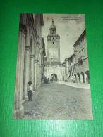 Cartolina Castelfranco Veneto - Interno Del Castello 1910 Ca - Treviso
