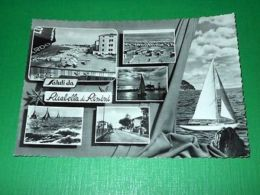 Cartolina Saluti Da Riccabella Di Rimini - Vedute Diverse 1958 - Rimini