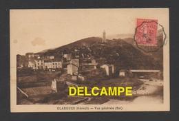 DD / 34 HÉRAULT / OLARGUES / VUE GENERALE ( EST ) / CIRCULÉE EN 1932 - France