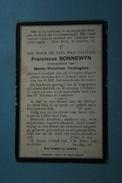 Franciscus Bonnewyn Vf Vanhegem Lembeek 1849 1909 /08/ - Images Religieuses