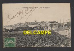 DF / 34 HÉRAULT / NEZIGNAN L' EVÊQUE / VUE GENERALE / CIRCULÉE EN 1912 - France