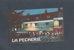 CDV CARTE DE VISITE LA PECHERIE À COURSEULLES SUR MER : - Cartes De Visite