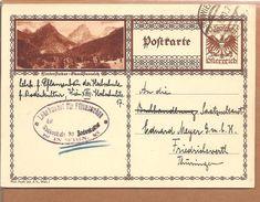 Bildpostkarte Adler 10 Gr. Hinterstoder - Ganzsachen