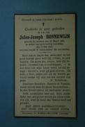 Jules Bonnewijn Lembeek 1886 1942 /010/ - Images Religieuses