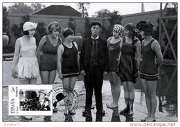 Spain 2013 - The World Of Cinema - Buster Keaton Maxicard - Cinema