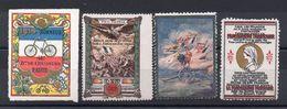 Lot De 4 Vignettes 1914/18, - 1914-18