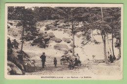 MALESHERBES : Les Rochers, La Sablière. 2 Scans. Edition Lenormand - Malesherbes
