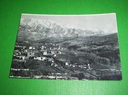 Cartolina Amatrice ( Rieti ) - Panorama Parziale 1937 - Rieti