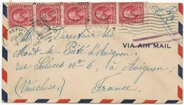 LETTRE PAR AVION 1931 A DESTINATION DE LA FRANCE - Cartas