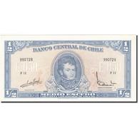 Chile, 1/2 Escudo, 1962-1975, KM:134Aa, SUP - Chili