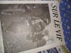 Sur Le Vif 27 Du 13-05-1915 Guerre Prisonnier Militaria Soldat Bataille Berry Au Bac Karthauserwal Garros Morane Taube - Livres, BD, Revues