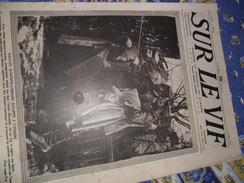 Sur Le Vif 28 Du 22-05-1915 Guerre Prisonnier Militaria Soldat Bataille Reims Bateaux Dardanelles Sous-marin Torpilleur - Livres, BD, Revues