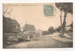 BOUGIVAL BOULEVARD DE LA MACHINE  CPA705 - Bougival