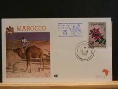 69/552  FDC MAROC  1985 - Papas