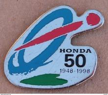 50 ANS HONDA  1948 / 1998  -       (JAUNE) - Honda