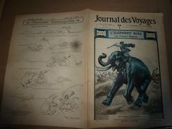 1904 JdV :Eléphant Bleu; Jeu Du TURBAN;La Seki Djouji Sha Au JAPON;La Réunion;Alpins à Viraysse (Ubaye);Au Cambodge;etc - 1900 - 1949