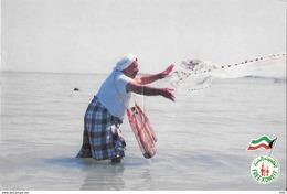 KUWAIT - Femme - Pêche - Koweït