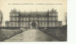 CPA VILLERS SUR COUDUN LE CHATEAU DE RIMBERLIEU VU DE FACE   106 - France
