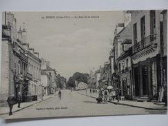 Semur, La Rue De La Liberté. - Semur