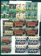FOOT Coupe Du Monde 1986 Mexique Série De 8 Valeurs NON DENTELEESen Blocs De 4 St Vincent Nxx Dont PLATINI . - World Cup
