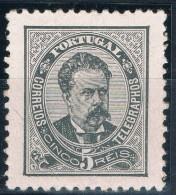 Portugal, 1884/7, # 60 Dent. 11 3/4, Papel Porcelana, MH - 1862-1884 : D.Luiz I