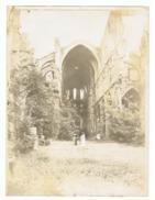 Photo ( +/- 18 X 24 Cm) Ruines D'une Eglise, Cathédrale, Abbaye,..??? A SITUER  (fr49) - Lieux