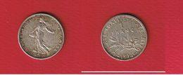 Semeuse  --  1 Franc 1914  --  état  TTB - France