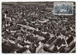 AUBIGNY SUR NERE--1956--Vue Panoramique Aérienne - Aubigny Sur Nere