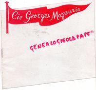 83- TOULON- PROGRAMME CIE GEORGES MAZAURIC-1952-YVONNE DARRIES-COLETTE ROBERT-LE TZAREWITCH -FRANZ LEHAR-ROBERT ROIBIN - Programmi