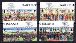 Alderney 2000 Garnison 8v ** Mnh (ALD124) - Alderney
