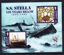 Alderney 1999 S.S. Stella M/s  ** Mnh (ALD125) - Alderney