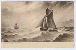 BLACKPOOL Fishing Boats Off ... - England