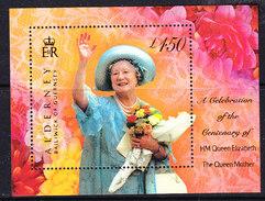 Alderney 2000 Queen Mother M/s ** Mnh (ALD125) - Alderney