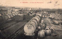 V10571 Cpa 34 Béziers - La Gare Des Marchandises - Beziers