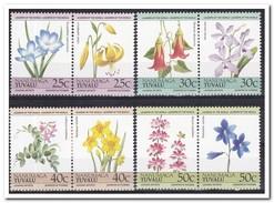 Tuvalu 1985, Plakker MH, Flowers - Tuvalu