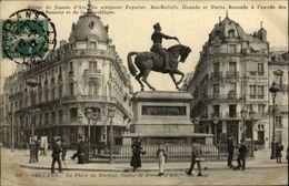 45 - ORLEANS -  - Joli Timbre Anniversaire Jeanne D'arc 1912 - Orleans