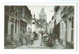 Cpa De BRUYERES   Et  MONTBERAULT  Strasse In Brueyeres 1917   Superbe Carte Allemande  !!! - France