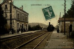 37 - SAINT-PATRICE - Gare - Train - France
