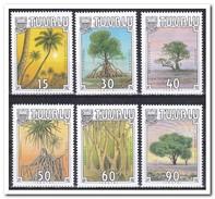Tuvalu 1990, Postfris MNH, Trees - Tuvalu