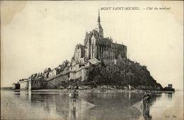 50 - MONT-SAIN-MICHEL - Peche - Le Mont Saint Michel