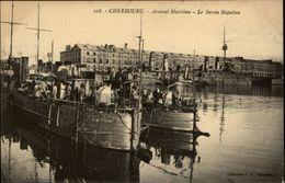 50 - CHERBOURG - Arsenal Maritime - Bateau De Guerre - Cherbourg