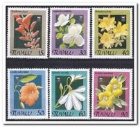 Tuvalu 1990, Postfris MNH, Flowers - Tuvalu