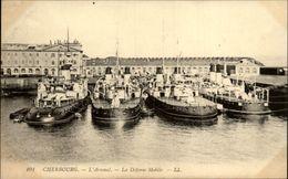 50 - CHERBOURG - Arsenal - Bateau De Guerre - Cherbourg